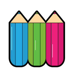 School supplies icon image vector