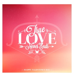 Valentines day set of label badges stamp and des vector image