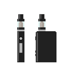 vape pen vaping box vector image