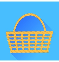 Wicker Backet vector image