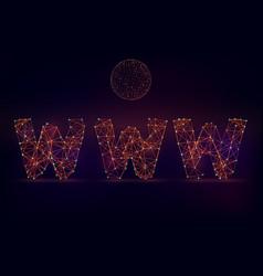 Www sign vector