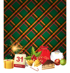English Christmas3 vector image