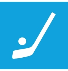 Hockey icon simple vector image