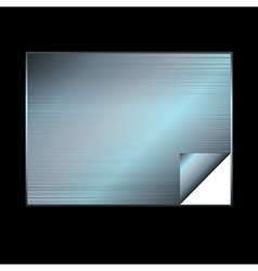 Silver gradient background vector