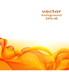 Abstract color wave design element vector image vector image