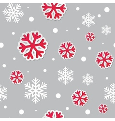 abstract christmas seamless background vector image