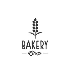 Bakery logo designs modern logo type vector