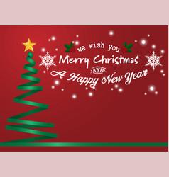 christmas holiday season background vector image