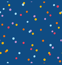 party confetti seamless pattern vector image