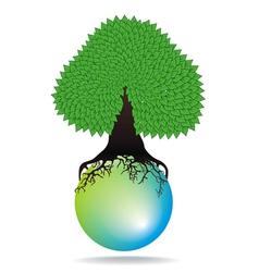 tree water summer vector image