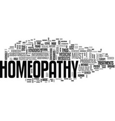 Where else to get homeopathy remedies but online vector