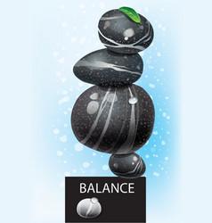 Balanced concept vector image