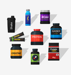 sports nutrition vector image