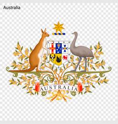 Emblem australia vector