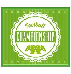 Football design vector