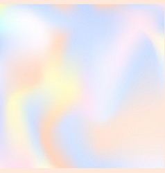 holographic abstract background vector image