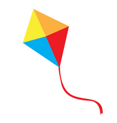 Isolated kite toy vector