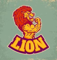 Lion sport vector