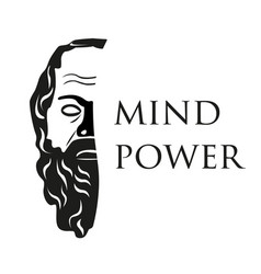mind power vector image