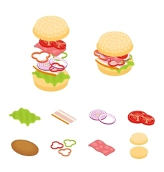 Set constructor isometric sandwich and vector