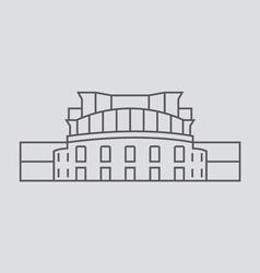 yerevan vector image