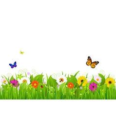 Fresh Nature Landscape vector image vector image