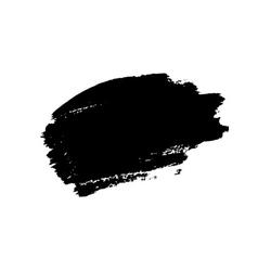 Grunge background brush stroke vector image