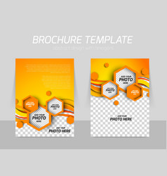 Brochure background vector