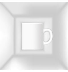 cup in the box vector image