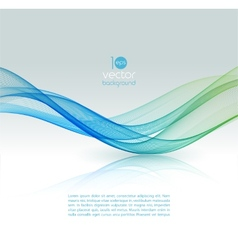 Abstract color template background vector image