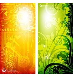 Abstract Machine Background vector image