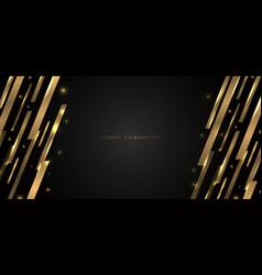 abstract modern banner web template design golden vector image