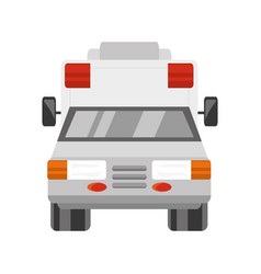 Ambulance medical service vector