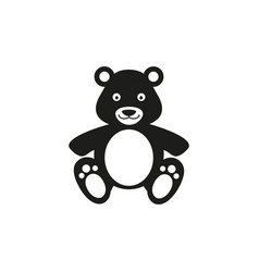 bear present toy icon vector image