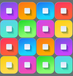 colored squares seamless backfround vector image