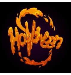 Halloween splash vector