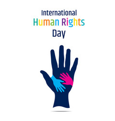 international human rights day vector image