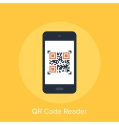 QR Code Reader vector image