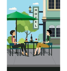 Restaurants Hotels vector