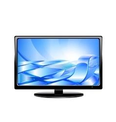 Tv monitor vector image