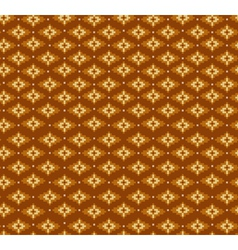 Aztecs seamless pattern on brown colors vector image vector image