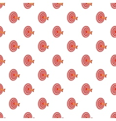 Target pattern cartoon style vector image