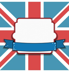 uk frame vector image vector image