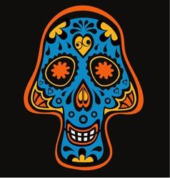 Skull3 vector image vector image