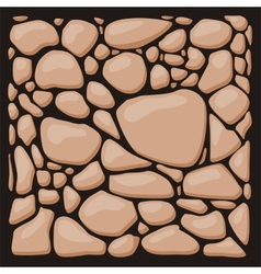 Stone cladding texture set vector