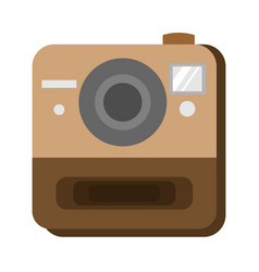 instant photo camera vector image