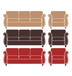 Sofa Armchair vector