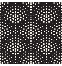 Seamless Black And White Circles Mosaic vector image