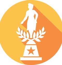 Movie Award Icon vector image vector image