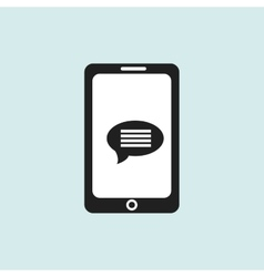 smartphone communicationdesign vector image